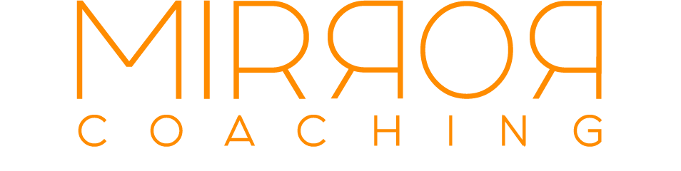 Mirror Coaching logo orange
